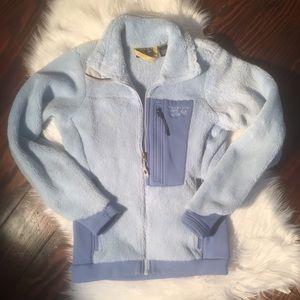 Mountain Hardwear Monkey Fleece Light Blue Jacket
